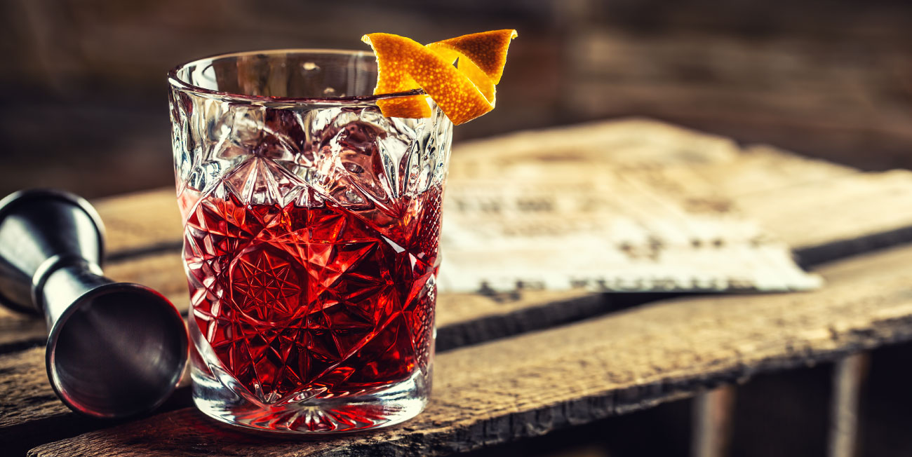 Negroni drinks